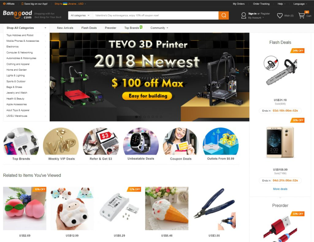 Самые дешевые товары и интернет магазины Китая - topobzor.info cce2dfb8705
